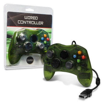 XBX: CONTROLLER - WIRED - GENERIC - GREEN (NEW)