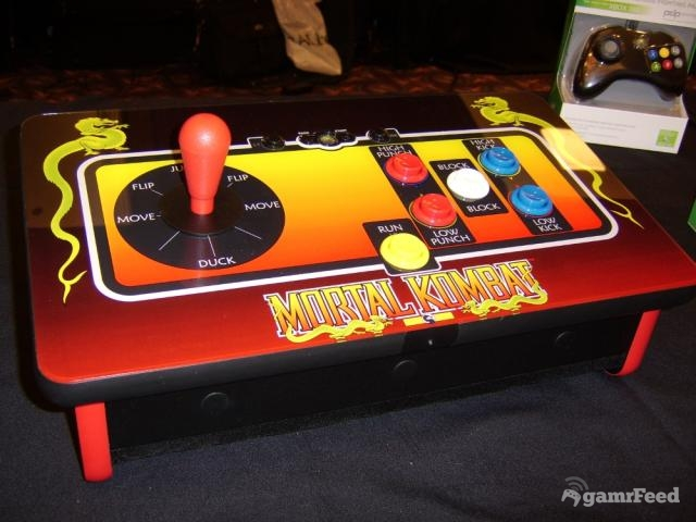 360: CONTROLLER - MORTAL KOMBAT KLASSIC LIMITED EDITION FIGHT STICK (NEW)