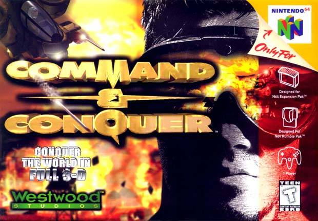 N64: COMMAND AND CONQUER (GAME)