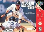 N64: ALL-STAR BASEBALL 2000 (GAME)