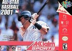 N64: ALL-STAR BASEBALL 2001 (GAME)