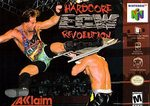 N64: ECW HARDCORE REVOLUTION (GAME)