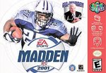 N64: MADDEN 2001 (GAME)