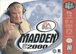N64: MADDEN 2000 (GAME)