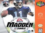 N64: MADDEN 2002 (GAME)
