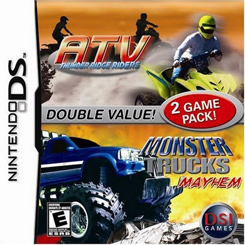 NDS: ATV THUNDER RIDGE RIDERS - MONSTER TRUCKS MAYHEM (COMPLETE)
