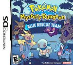 NDS: POKEMON MYSTERY DUNGEON: BLUE RESCUE TEAM (WORN LABEL) (GAME)
