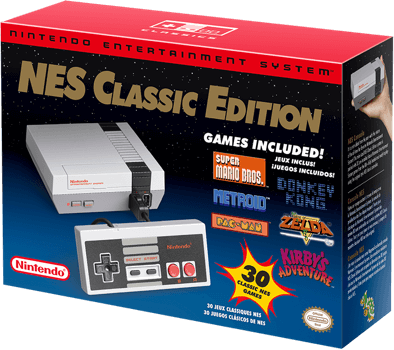 NCE: CONSOLE - NES CLASSIC EDITION (NEW)