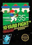NES: 10-YARD FIGHT (BAD LABEL) (GAME)