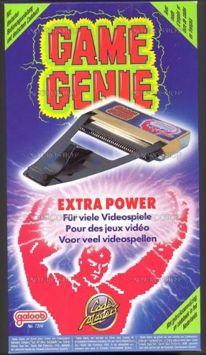 NES: GOLD GAME GENIE - BY GALOOB - NO MANUAL (USED)