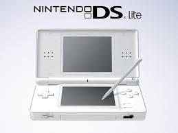 NDS: CONSOLE - DS LITE - POLAR WHITE W/ CHARGER (USED)