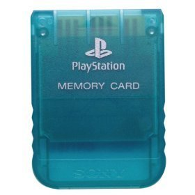 PS1: MEMORY CARD - SONY - ASSORTED COLOR (USED)
