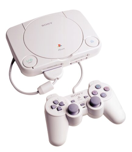 PS1: CONSOLE - PSONE MODEL - MODEL SCPH-101 - INCL: CONTROLLER AND HOOKUPS (USED)