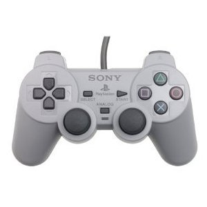 PS1: CONTROLLER - SONY - DUALSHOCK MODEL SCPH-1200 (USED)