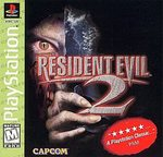 PS1: RESIDENT EVIL 2- BLACK LABEL (BOX)