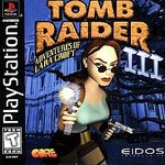PS1: TOMB RAIDER III: ADVENTURES OF LARA CROFT (COMPLETE)