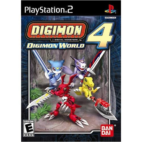 PS2: DIGIMON WORLD 4 (COMPLETE)