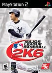 PS2: MAJOR LEAGUE BASEBALL 2K6 (COMPLETE)