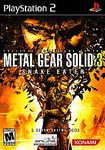 PS2: METAL GEAR SOLID 3 SNAKE EATER (BOX)