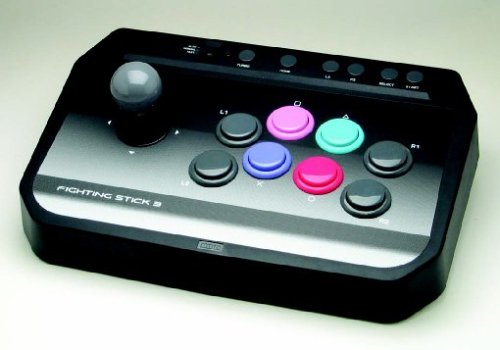 PS3: FIGHTING STICK 3 BY HORI (USED)