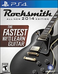 PS4: ROCKSMITH 2014 EDITION (SOFTWARE ONLY) (NM) (COMPLETE)