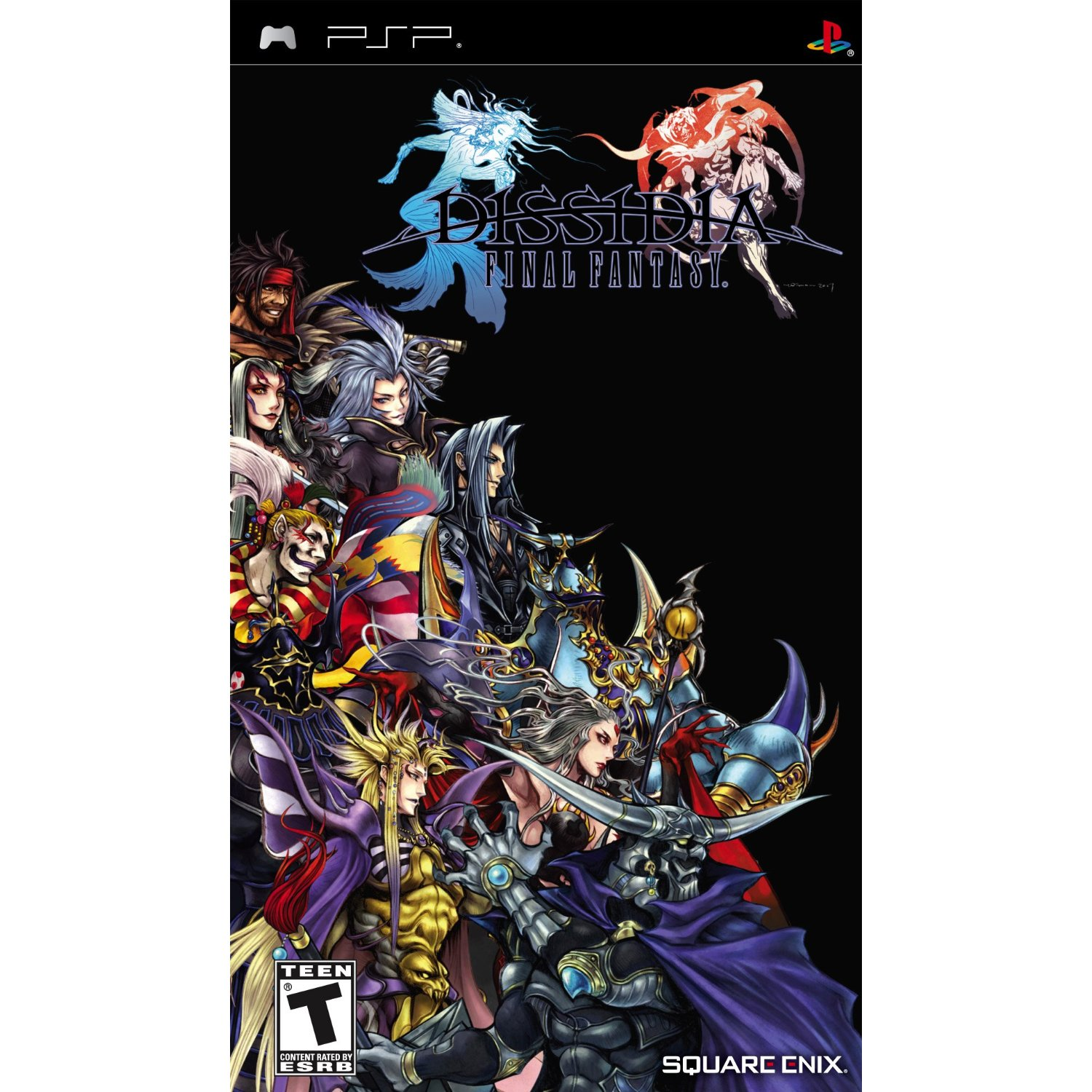 PSP: DISSIDIA FINAL FANTASY (COMPLETE)