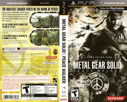 PSP: METAL GEAR SOLID: PEACE WALKER (COMPLETE)