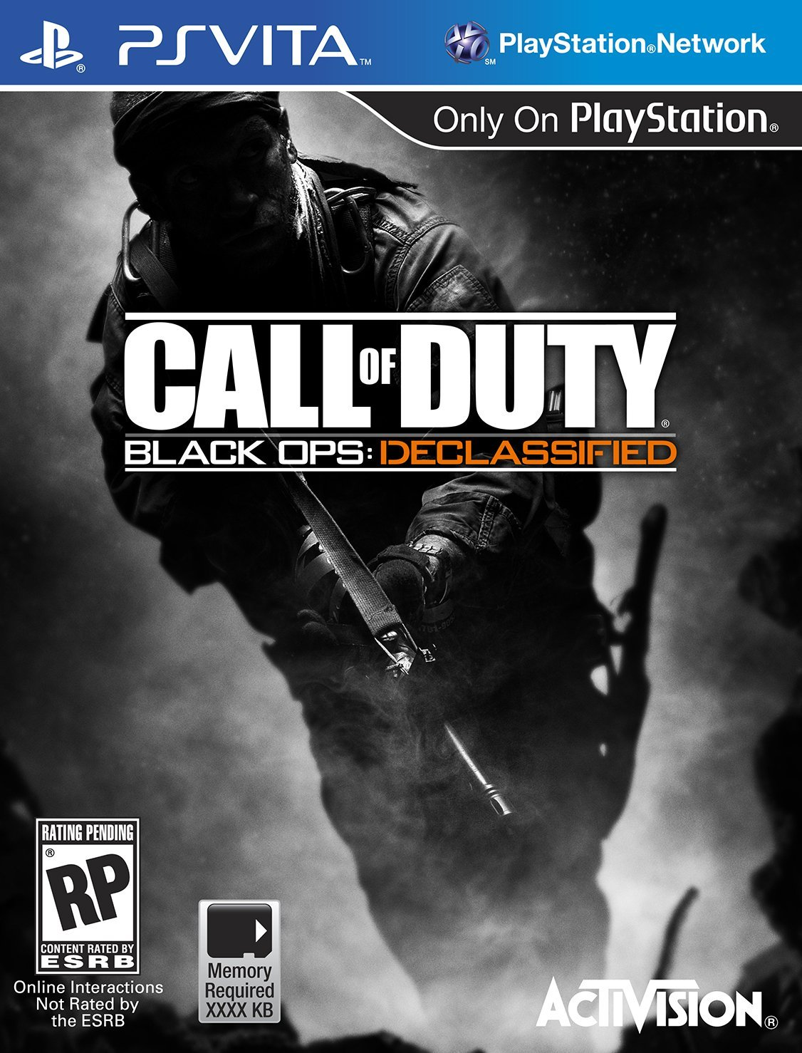 PSV: CALL OF DUTY: BLACK OPS DECLASSIFIED (GAME)