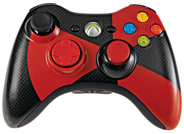 360: CONTROLLER - MSFT - WIRELESS - RED/BLACK GAMESTOP EXCLUSIVE (USED)