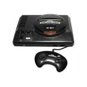 SG: CONSOLE - SEGA - MODEL 1601 - INCL: 1 SEGA 3 BUTTON CONTROLLER AND HOOKUPS (AV TYPE) (USED)