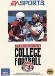 SG: BILL WALSH COLLEGE FOOTBALL (GAME)