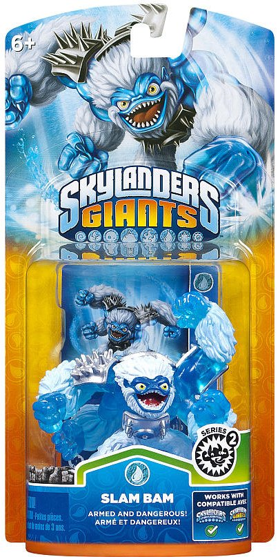 FIG: GIANTS - SLAM BAM SKYLANDER SERIES 2 (USED)