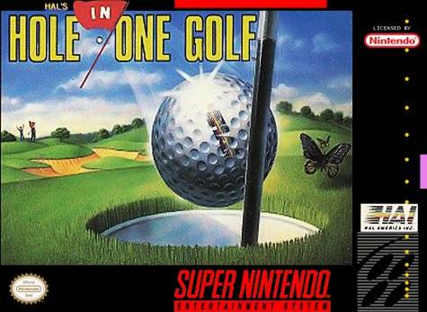 SNES: HOLE IN ONE GOLF; HALS (GAME)