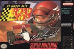 SNES: AL UNSER JRS ROAD TO THE TOP (GAME)