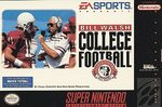 SNES: BILL WALSH COLLEGE FOOTBALL (GAME)