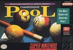 SNES: CHAMPIONSHIP POOL (GAME)