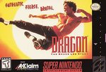 SNES: DRAGON: THE BRUCE LEE STORY (GAME)