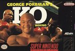 SNES: GEORGE FOREMANS KO BOXING (GAME)