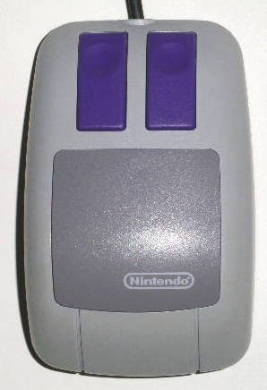 SNES: CONTROLLER - NINTENDO - MOUSE CONTROLLER FOR MARIO PAINT (NO MOUSE PAD) (USED)