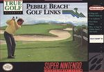 SNES: PEBBLE BEACH GOLF LINKS (COMPLETE)
