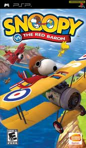 PSP: SNOOPY VS. THE RED BARON (GAME)