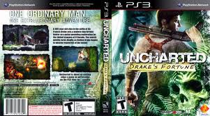 PS3: UNCHARTED: DRAKES FORTUNE (COMPLETE)