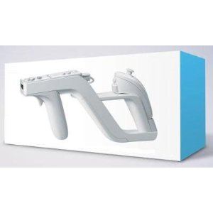 WII: ZAPPER LIGHT GUN - GENERIC (USED)