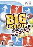 WII: BIG LEAGUE SPORTS (COMPLETE)