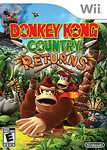 WII: DONKEY KONG COUNTRY RETURNS (COMPLETE)