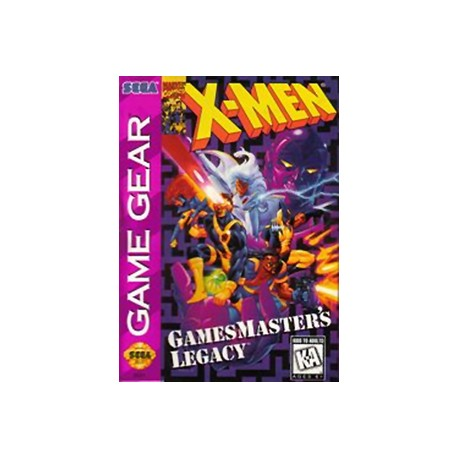 GG: X-MEN GAME MASTERS LEGACY (GAME)
